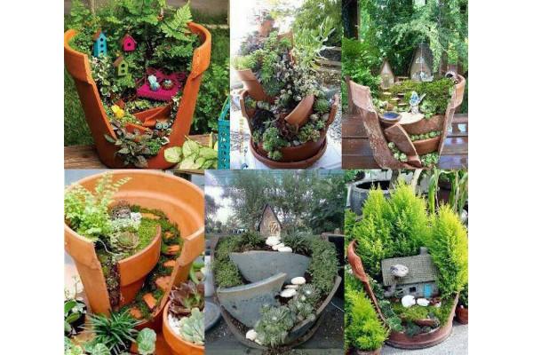 Decoraci n con macetas y flores en el hogar for Diseno de jardines para el hogar