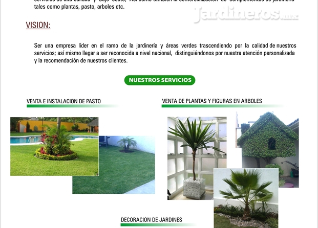 Im genes de alta jardiner a express for Empresas de jardineria